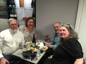 us with Marisa and Maurizio