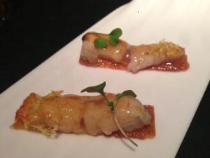 Chicken and crayfish