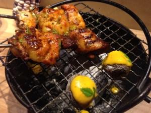 """Grilled chicken """"Anticucho"""""""