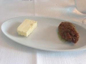 Butter and pork fat spread for bread