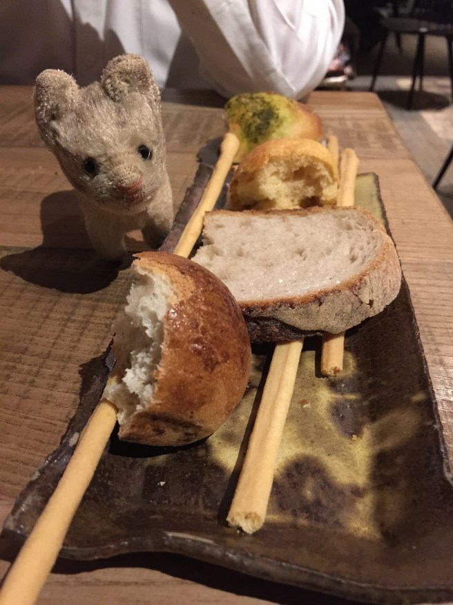 Frankie wanted to try all the kinds of breads