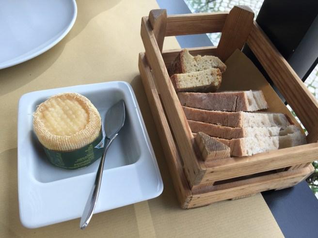 cheese, bread