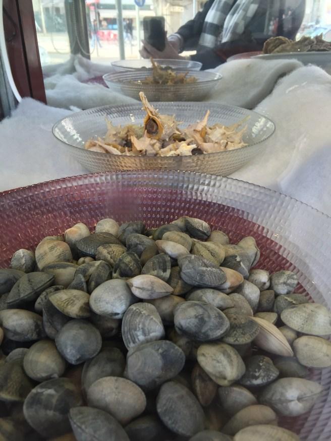 More shellfish