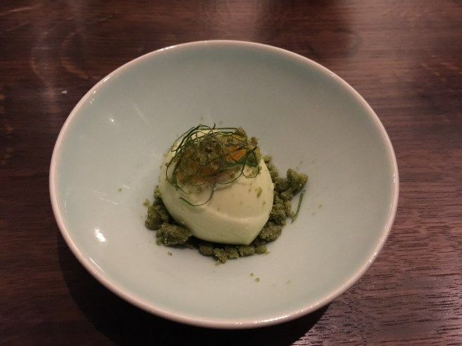 sesame leaf ice cream