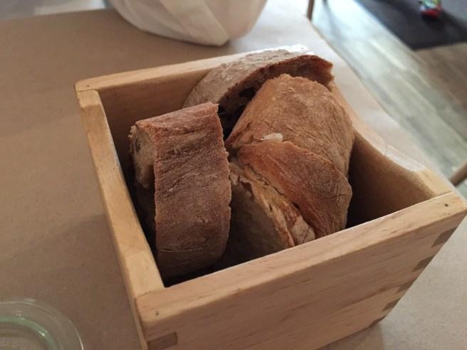 bread box - white and wheat bread