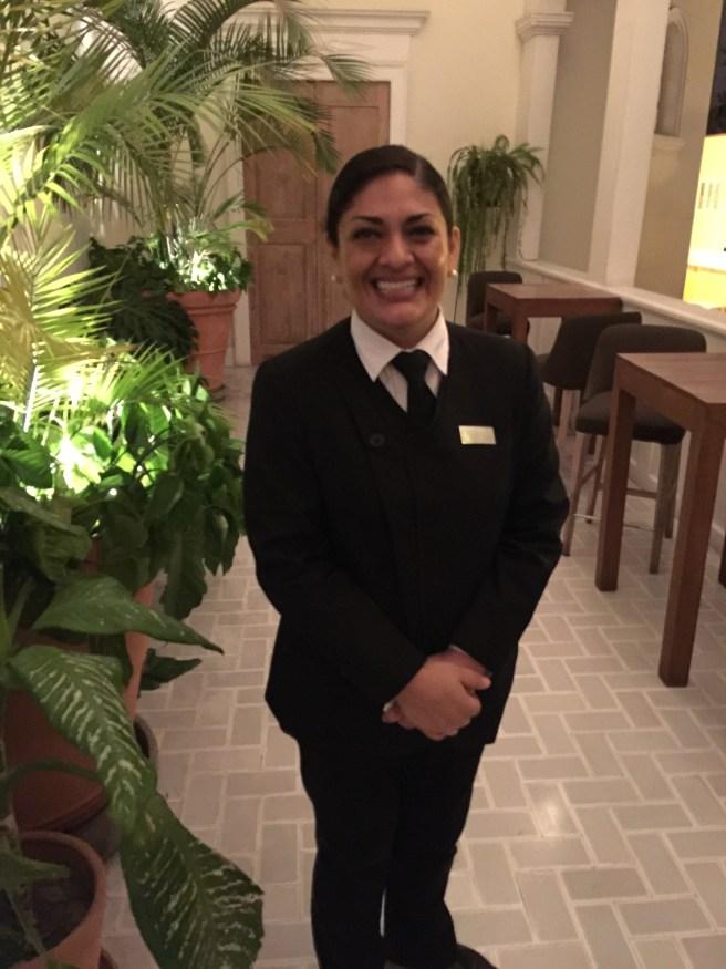 Corina, our waitress