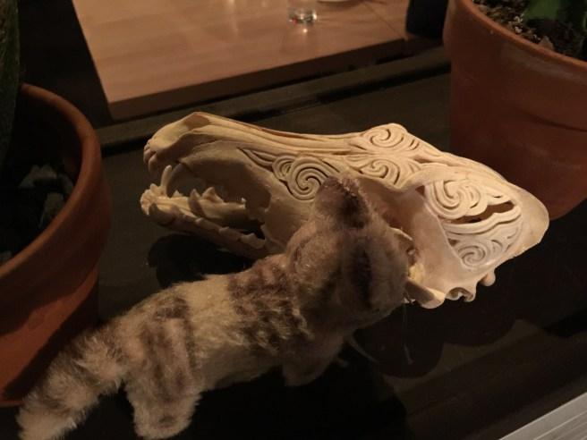 Frankie met skull