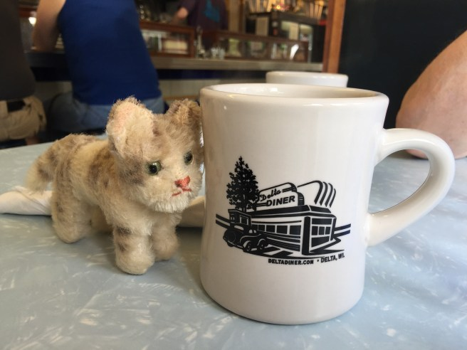 Frankie liked the coffee mugs