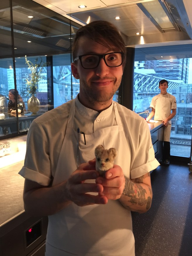 Rob Drennan, chef from Texas and Frankie