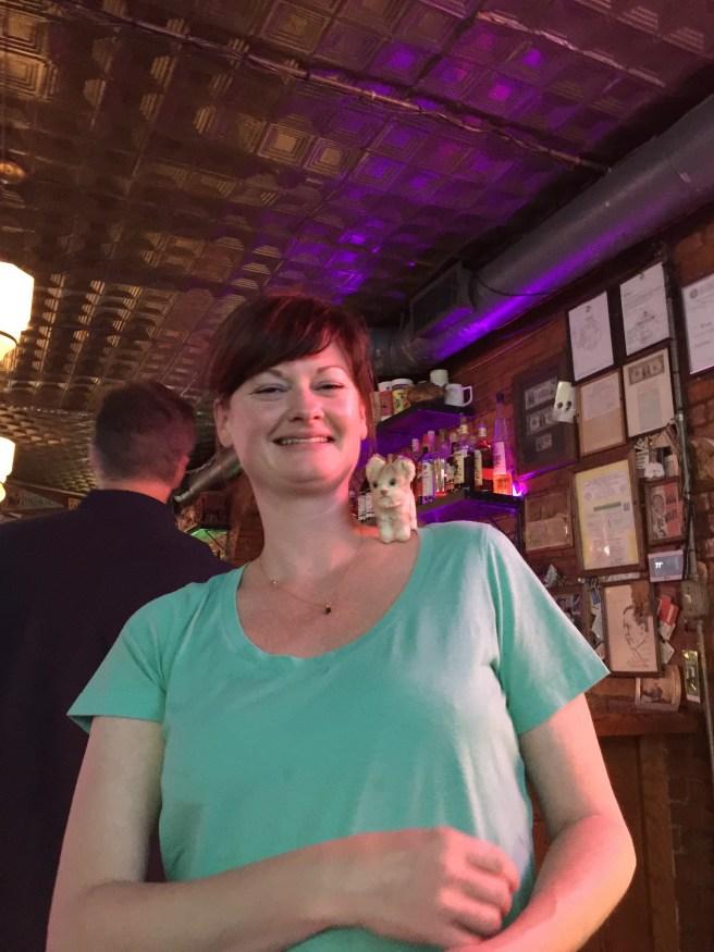 Waitress Beth with Frankie