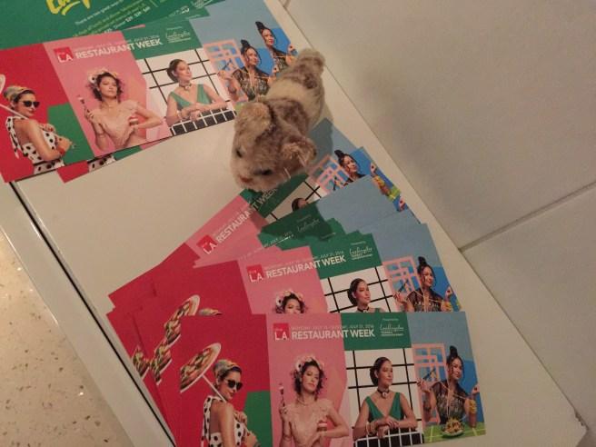 Frankie liked the DineLA ads