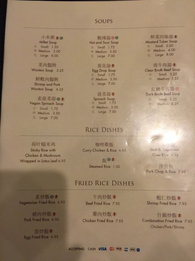 soups, rice