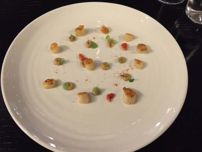 scallops with licorice