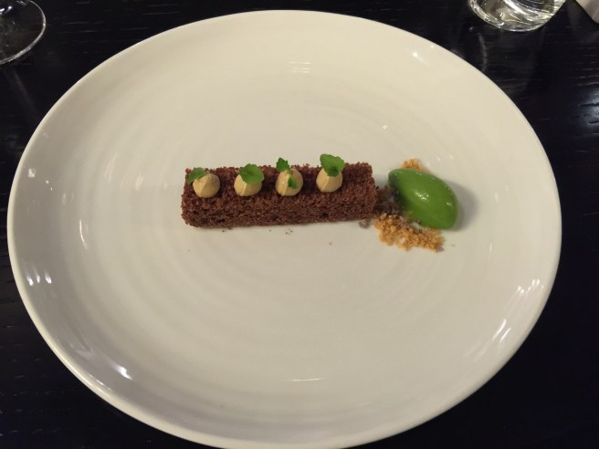Chocolate, mint and liquorice
