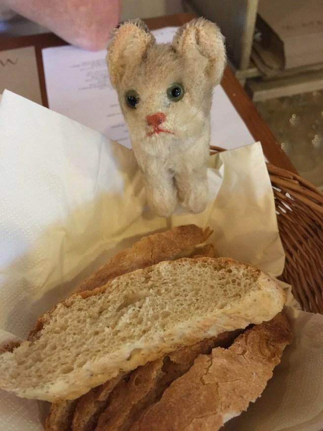 Frankie and the bread