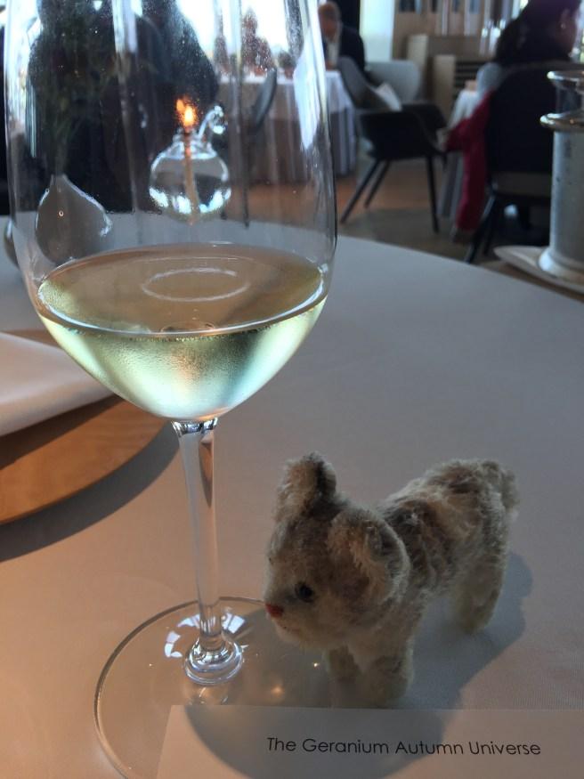 Frankie liked the wine