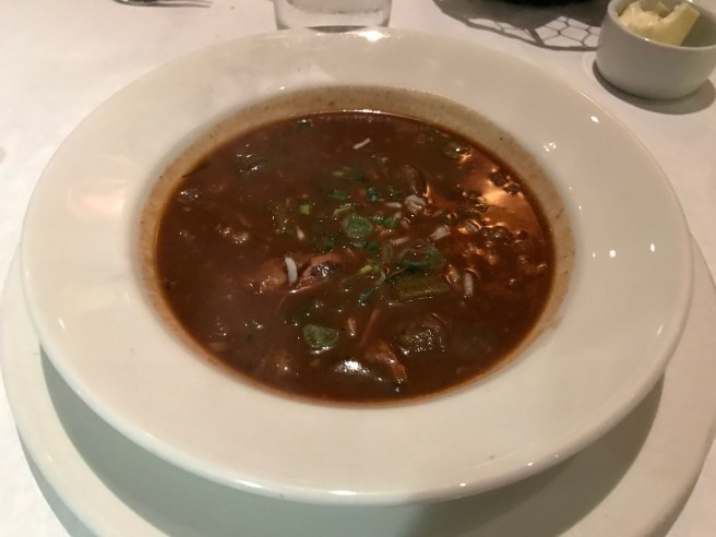 Duck, Tasso and Andouille Gumbo