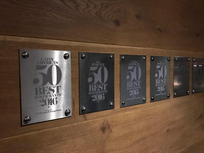 award wall
