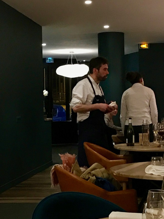 chef visits some tables