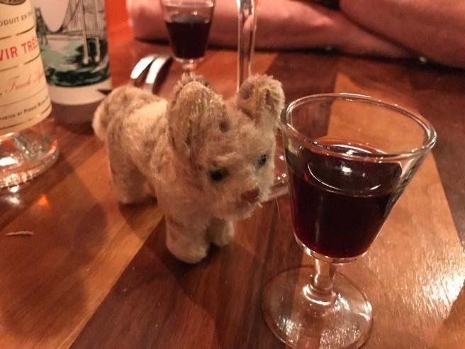Frankie loves a dessert wine