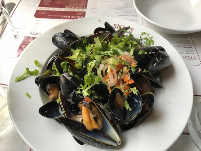 Moules Marinieres - steamed mussels from Breiðafjörður