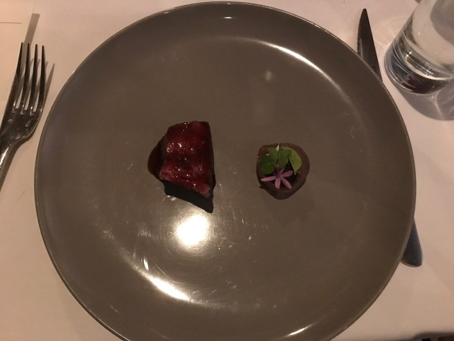 Zabuton, allium, opal basil