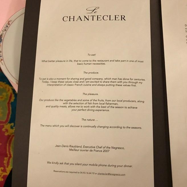 About Chantecler
