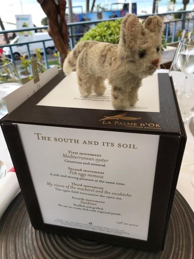 Frankie liked the menu box