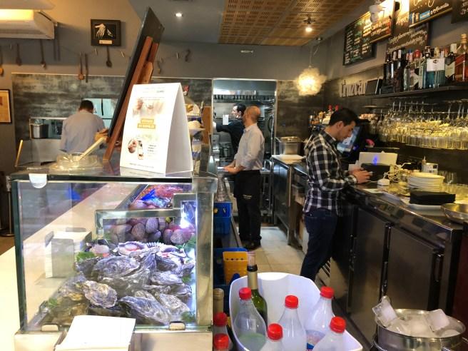 counter area
