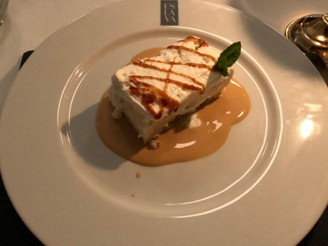 rectangle dessert