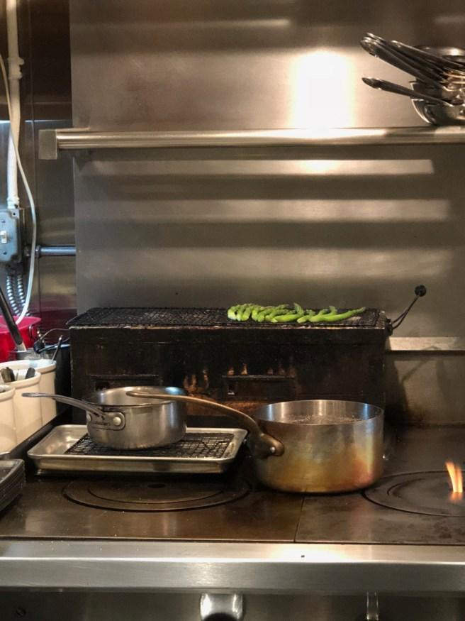 asparagus cooking