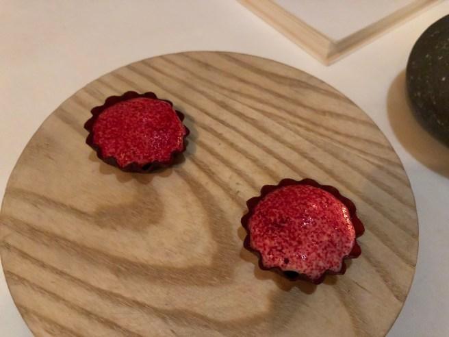 Preserved raspberry tart