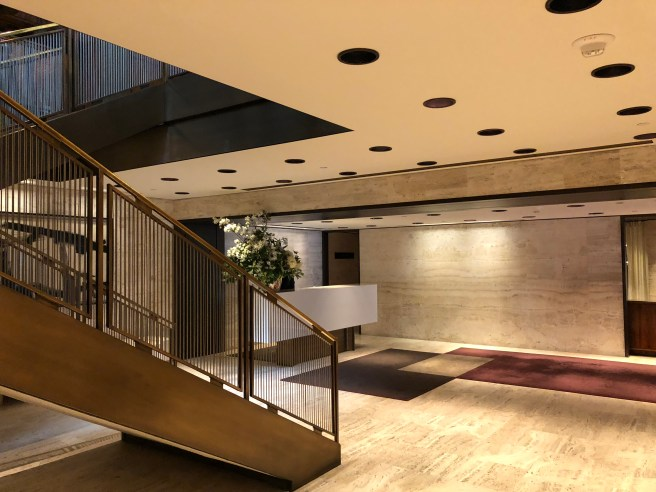 entry stairs and lobby