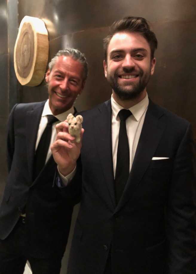 Sommelier Jordon and Frankie