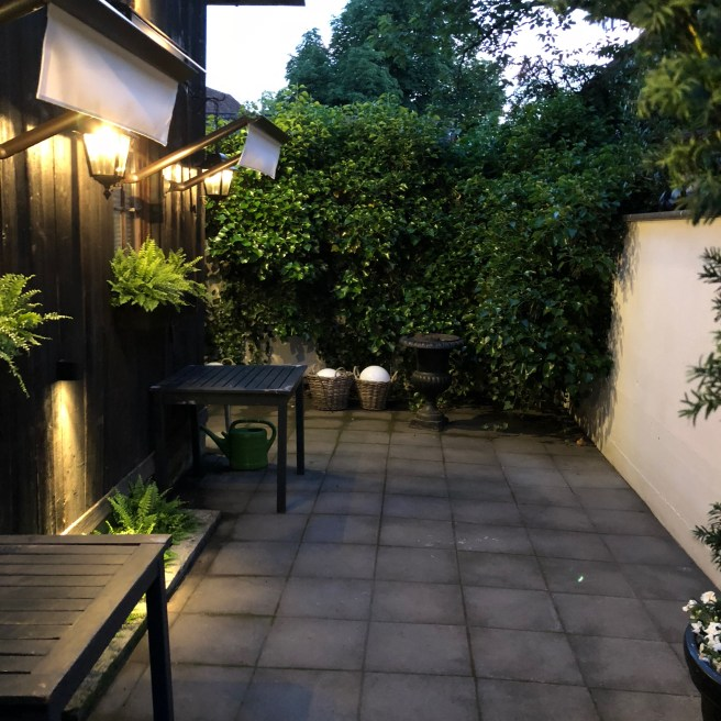 another patio area