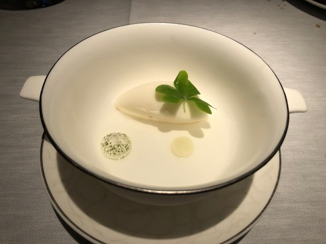 reset: Yuzu from Japan, sake, meringue, matcha tea, wood sorrel