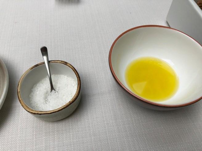 salt, olive oil