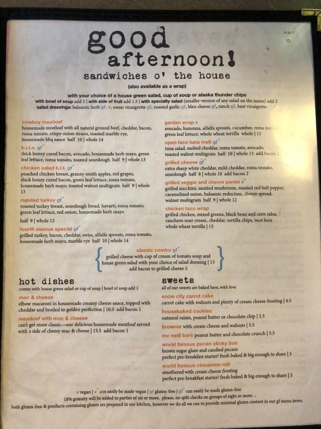 menu 4