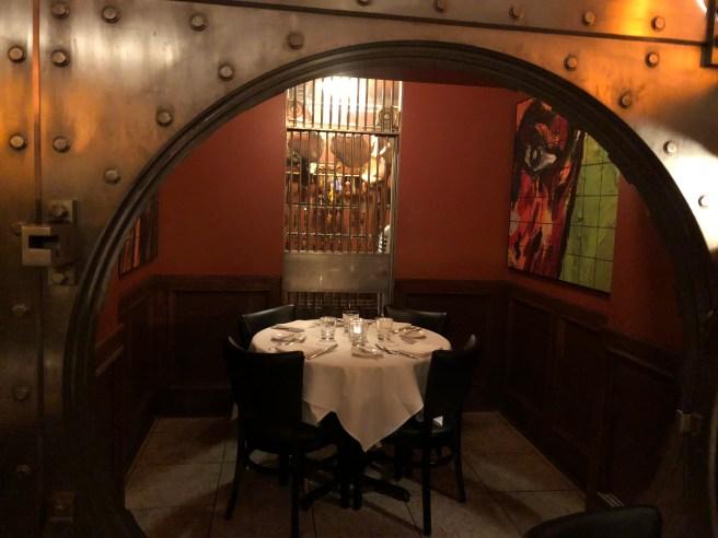 vault dining