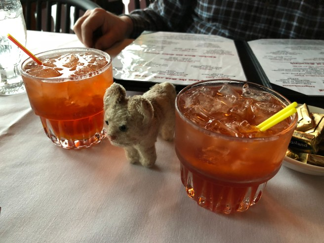 Frankie and a couple of Old Fashioned