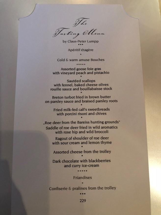 tasting menu 2
