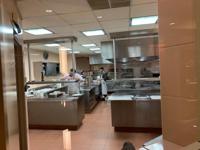peek in the kitchen
