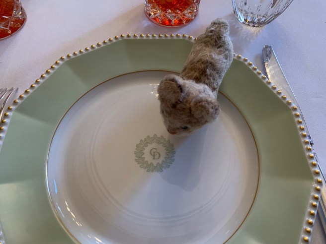 Frankie liked the plates