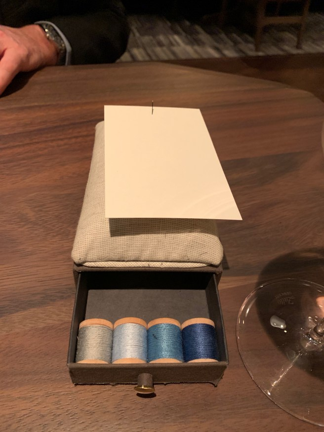 it opened to find the thread