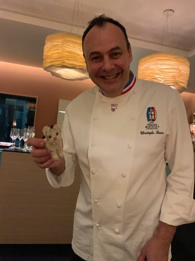 Chef Christophe Roure