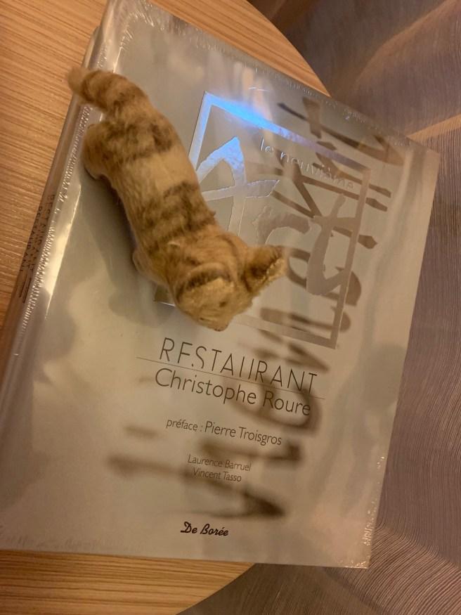 Frankie found chef's book