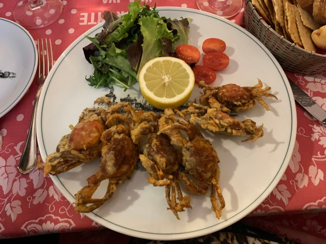soft shell crabs