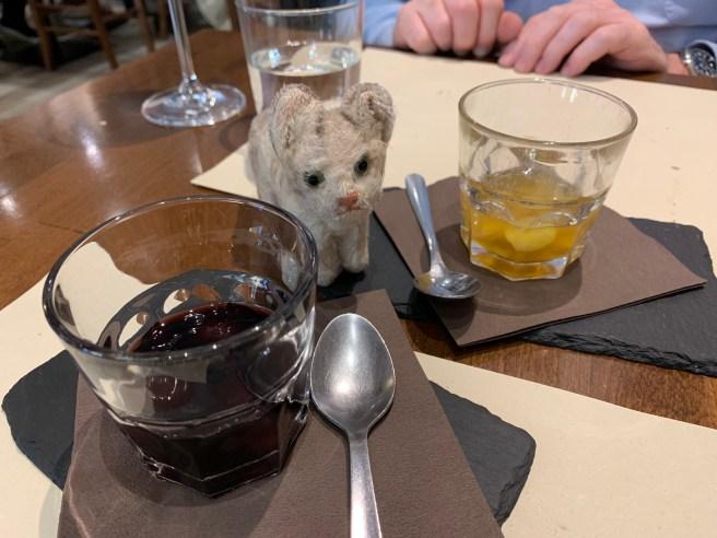 Frankie and dessert