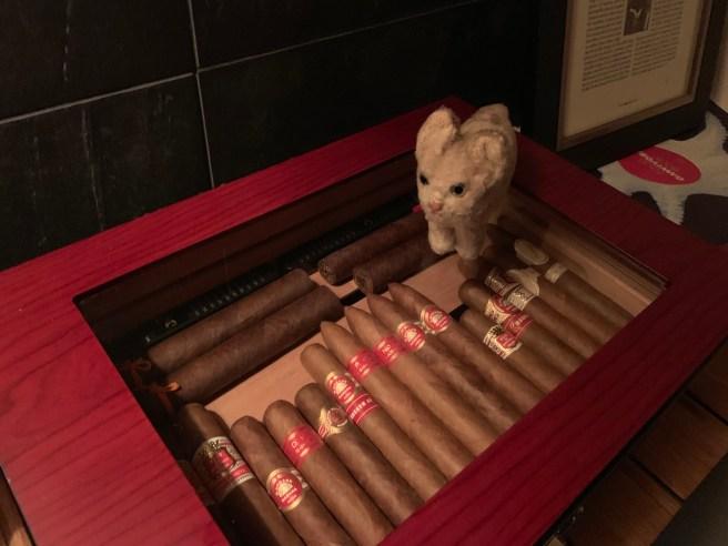 Frankie found cigars
