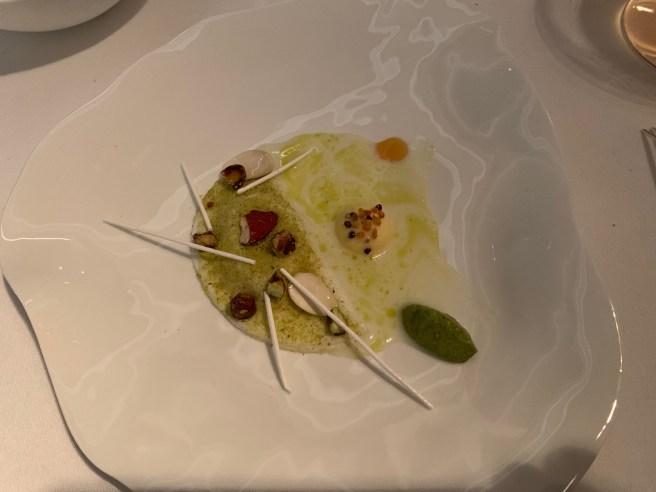 pistachio, meringue sticks